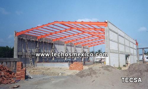 Techos los techos cumplen con la funcin de proteger una for Techos sin estructura para casa